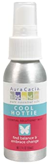 Aura Cacia Essential Solutions Mist Cool Hottie 2 Fluid Ounce