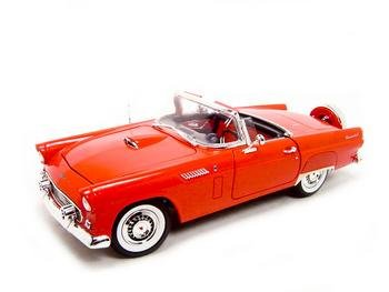 Buy 1956 Ford Thunderbird Red 1:18 Diecast Model