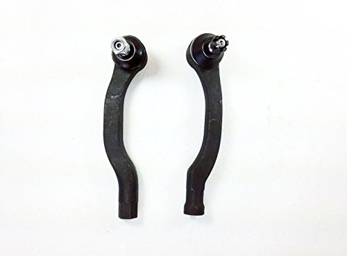 2 Pcs Kit Front Outer Tie Rod Ends Left and Right (2000 Front End Honda Civic compare prices)