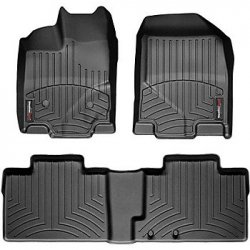 img View detail Weathertech 443961-443733 Front and Rear Floorliners from amazon.com