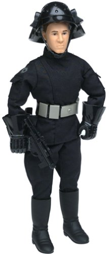 Star Wars Death Star Trooper with Imperial Blaster - Power of the Jedi