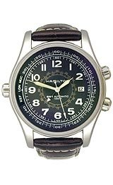 Hamilton Khaki Navy UTC Black Dial Men's watch #H77505535