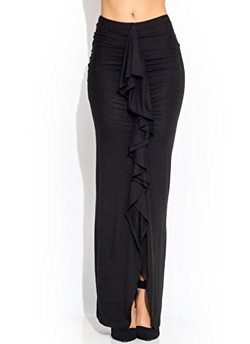 Fitted Maxi Skirt front-1056600