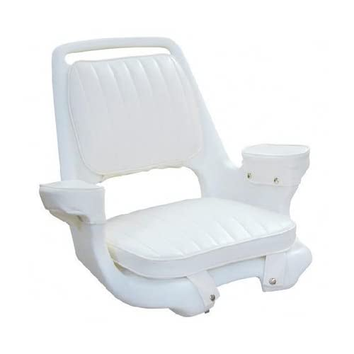 Offshore Extra Wide Captain's Chair without Pedestal White
