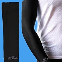 Biking & Sports Arm Sleeves- Protection from Sun, Dust and Pollution (HI-COOL)