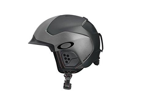 Oakley MOD5 casco de protección - cascos de protección (Snowboard/Ski, Mate, Negro, Gris, S/M/L, Man/Woman, ASTM F2040, CE EN1077)