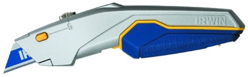 Irwin 1774106 Protouch Quickchange Retractable Blade Utility Knife