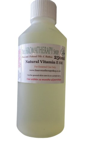 Natural Vitamin E Oil 250ml Size