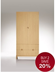 Conran Rendell Double Wardrobe