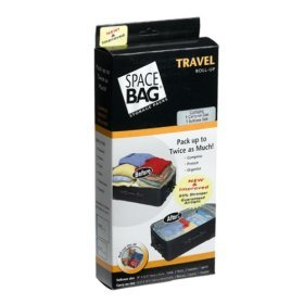 ITW Compressible Vacuum-Seal Travel Roll Bags, Set of 5