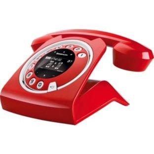 Sagemcom Red Sixty Retro Cordless Telephone images
