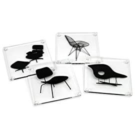 Eames Chairs Coasters