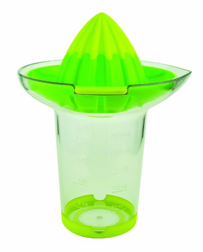 Casabella Citrus Juicer and Reamer, Lime and Green