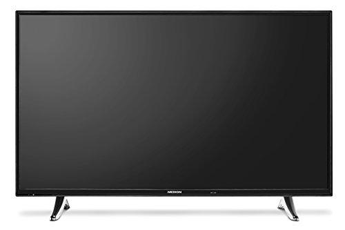 Medion P18073 MD 31094 138,8 cm (55 Zoll) LCD-Fernseher (mit LED-Backlight-Technologie, Full HD, 1920 x 1080 Pixel, HD Triple Tuner, DVB-T2 HD/C/S2, 600CMP, Netfilx App, integrierter Mediaplayer)