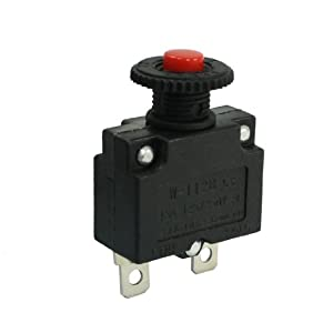 uxcell ac 125 250v 15a spst circuit breaker. Black Bedroom Furniture Sets. Home Design Ideas