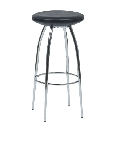 Eurostyle Bernie Bar Stool, Black