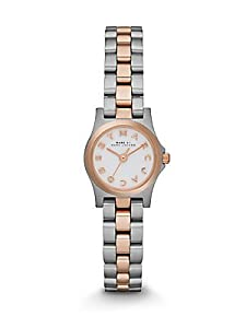 Marc by Marc Jacobs Two-Tone Stainless Steel Logo Watch - Silver-Rose Gold