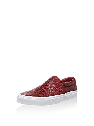Vans Slip-On Classic (Rojo)