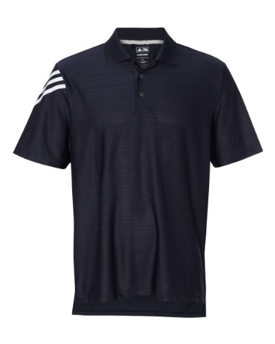adidas adidas Golf Mens ClimaCool Mesh Polo - WHITE/BLACK - S