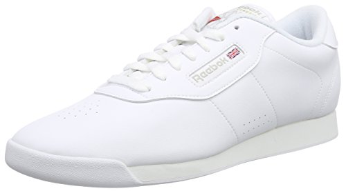 Reebok - PRINCESS, Calzature primi passi da donna, Bianco (INT-WHITE), 38.5