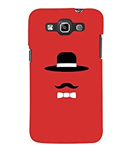 TOUCHNER (TN) Hat With Tie Back Case Cover for Samsung Galaxy Quattro i8552::Samsung Galaxy Quattro Win i8552