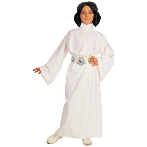 Kids Princess Leia Deluxe Costume Girls Medium Size 8-10