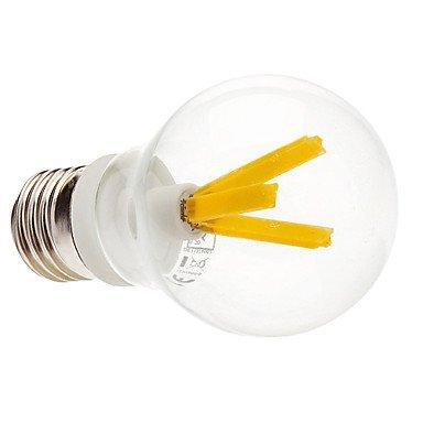 M.M E27 3W 3000 Warm White Light Led Transparent Globe Bulb (230V)