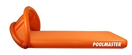 Poolmaster Canopy Mattress Ride-On, Orange by Poolmaster jetzt kaufen