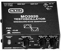 Rolls MO2020 Testoscillator Sine/Square Wave Generator