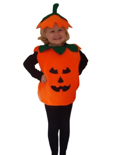 Fantasy World Boy's An01 Pumpkin Costume (4t-4)
