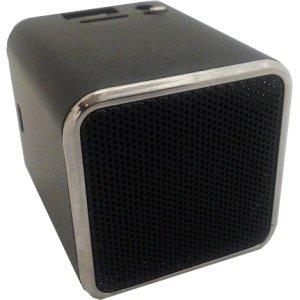 Snowfire Cube-Bk Cuboid Portable Speaker - Black