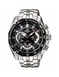 Casio Edifice Analog Black Dial Men's Watch - EF-550D-1AVDF (ED390)