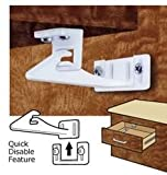 Mommys Helper Safe-Lok Cabinet Door and Drawer Lock with Disable Feature