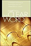 img - for The Clear Word: Giant Print Edition book / textbook / text book