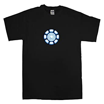 Iron Man t-shirt - Tony Stark Power Coil Chest - S - Black