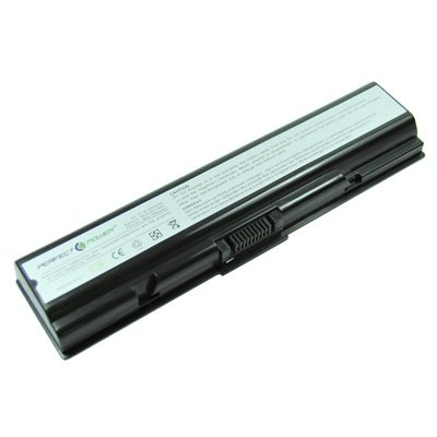 Laptop Battery for Toshiba Satellite L305-S5957, 6 cells 4400mAh Black