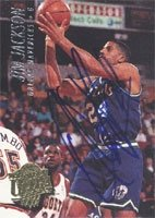 Jim Jackson Dallas Mavericks 1994 Fleer Ultra Autographed Hand Signed Trading Card -... by Hall+of+Fame+Memorabilia
