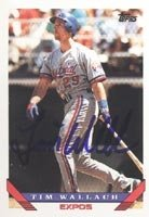 Tim Wallach Montreal Expos 1993 Topps Autographed Hand Signed Trading Card. by Hall+of+Fame+Memorabilia