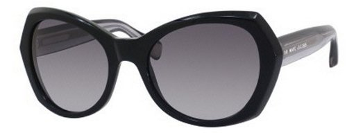 Marc Jacobs Marc Jacobs MJ434/S Sunglasses-03L3 Black (HD Gray Gradient Lens)-56mm