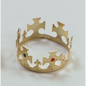 plastica-color-oro-re-magi-crown-nativita-dressing-fino-regolabile