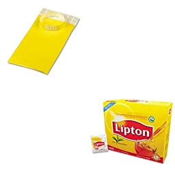 KITAVT75444LIP291 - Value Kit - Advantus Crowd Management Wristbands (AVT75444) and Lipton Tea Bags (LIP291)