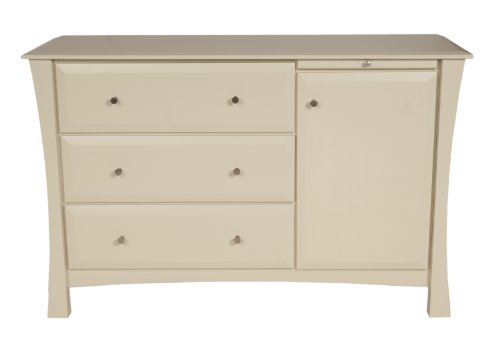 Offspring Kenora 3 Drawer Change Chest, Linen