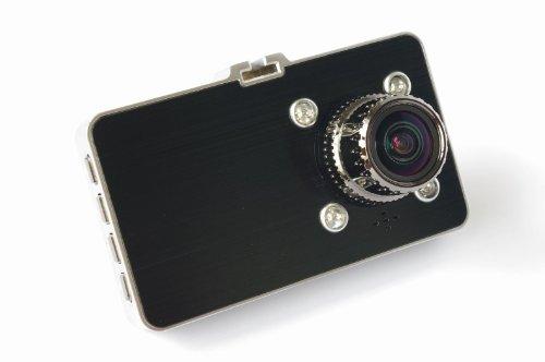 【@U-sKプレミアム】 超高画質300万画素 ドライブレコーダー 赤外線ライト4灯搭載 夜間撮影最高画質 超広角170° メタルボディ 最高品質 USK-PDVR-ZX01-1080P (プレミアムスチールブラック)