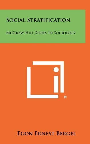 Social Stratification: McGraw Hill Series in Sociology