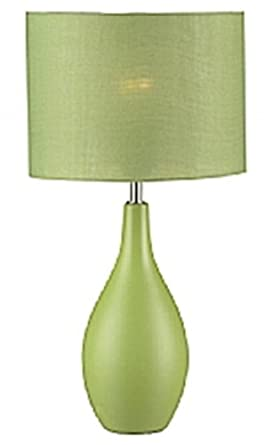floda table lamp lime green base and shade lighting. Black Bedroom Furniture Sets. Home Design Ideas