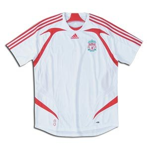 Liverpool 2008 Away Youth Soccer Jersey