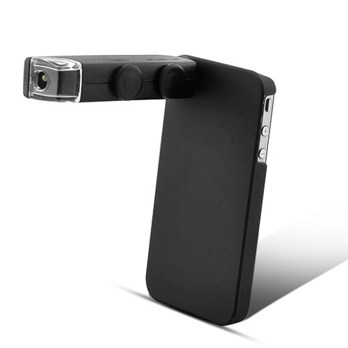 Bw Digital Microscope And Case For Iphone 4&4S - Black