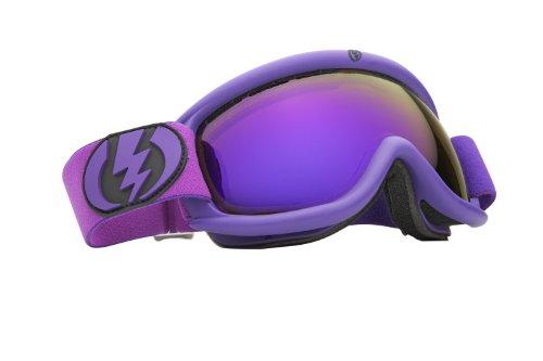 Electric Visual Eg.5S Snow Goggle, Matte Violet, Bronze/Blue Chrome