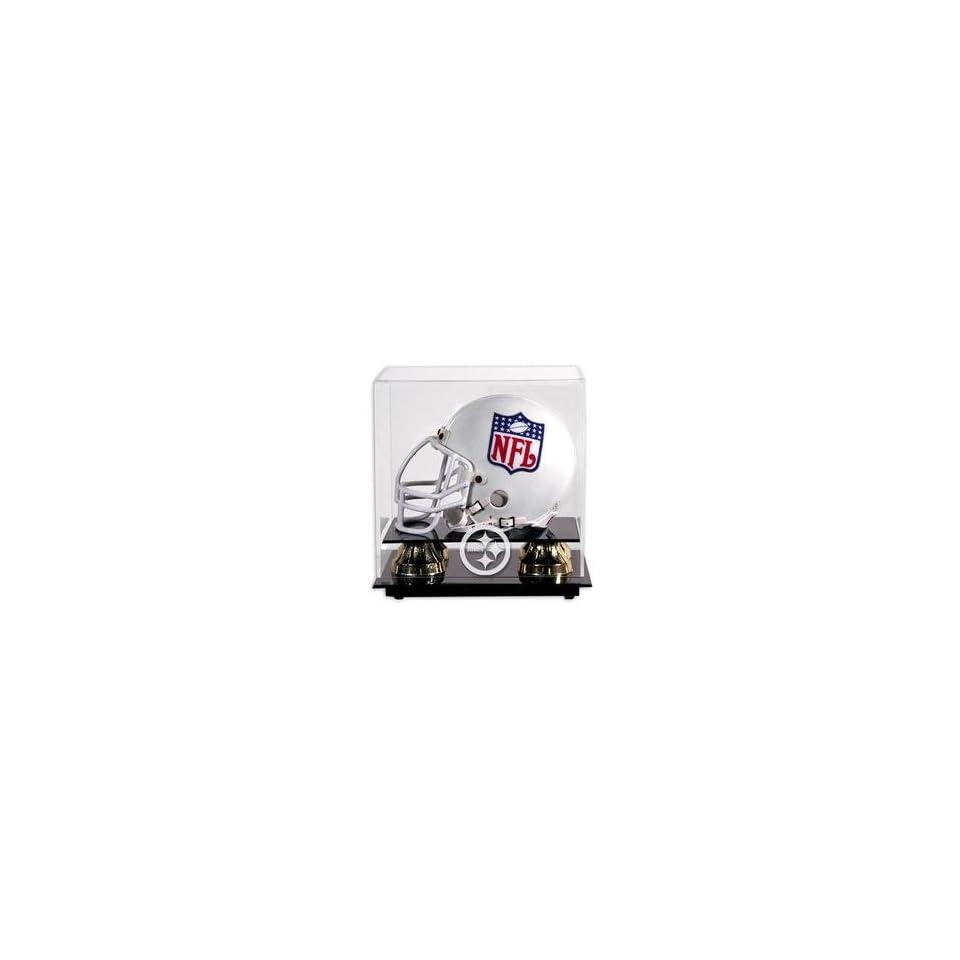 Mounted Memories Pittsburgh Steelers Mini Helmet Display Case   Pittsburgh Steelers One Size