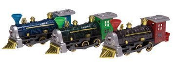 Diecast Large Locomotive by Schylling (English Manual)